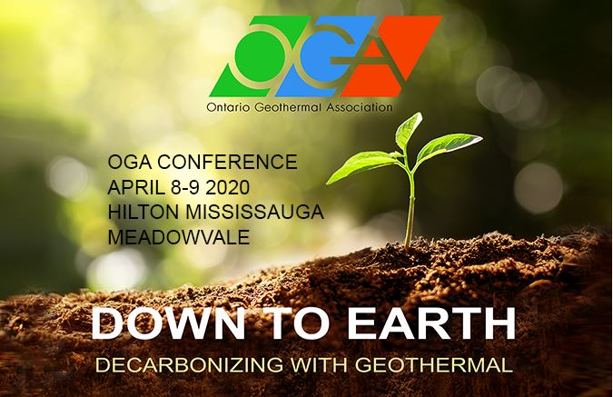 Ontario Geothermal Association 2020 Conference